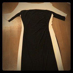 Ralph Lauren black/white sz 10 Dress